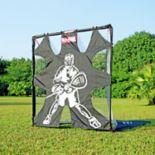 Net Playz 6'X6' Portable Fiberglass Lacrosse Goal with Target Panel