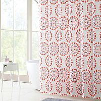 VCNY Maysam Shower Curtain, Bath Rug & Hook Set