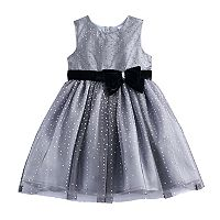 Toddler Girl Nannette Glittery Dress