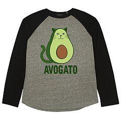 Boys 8-20 'Avogato' Cat Tee