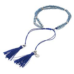 LC Lauren Conrad Birth Month Tasseled Slipknot Bracelet
