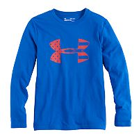 Boys 8-20 Under Armour American Flag Logo Tee