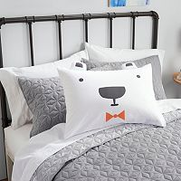 SONOMA Goods for Life™ Kids Animal Face Novelty Pillow Sham