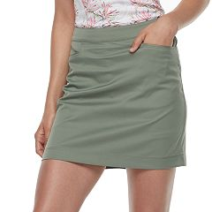 Women's Grand Slam Golf Zip Back Woven Skort