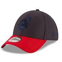 Adult New Era Cleveland Indians 39THIRTY Tone Tech Redux Flex-Fit Cap