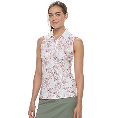Women's Grand Slam Golf Tropical Print Tank