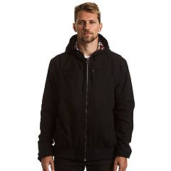 Men's Stanley Flannel-Lined Hooded Jacket