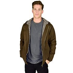 Big & Tall Stanley Flannel-Lined Hooded Jacket