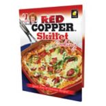 As Seen on TV Red Copper Skillet Cooking Cookbook