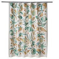 SONOMA Goods for Life™ Shell Island Printed Shower Curtain