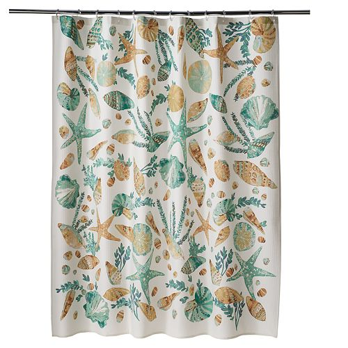 SONOMA Goods for Life™ Coastal Printed Shell Shower Curtain