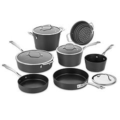 Cuisinart Conical Hard-Anodized Induction 11 pc Cookware Set