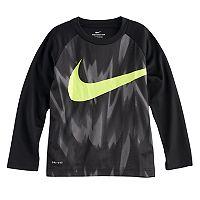 Boys 4-7 Nike Abstract Logo Raglan Tee