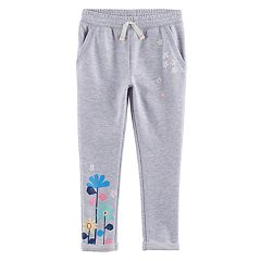 Toddler Girl Jumping Beans® Floral Jogger Pants
