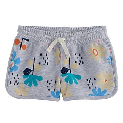 Toddler Girl Jumping Beans® Floral Dolphin Shortie Shorts