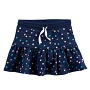 Toddler Girl Jumping Beans® Dot Flared Skort