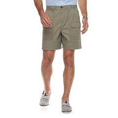 Men's Croft & Barrow® Classic-Fit Side Elastic Cargo Shorts