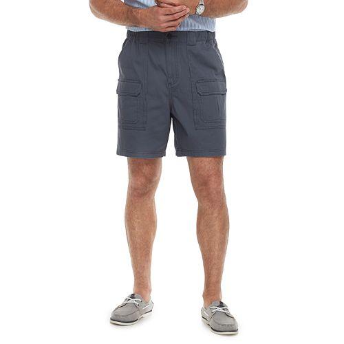 3f8ef4d7 Men's Croft & Barrow® Classic-Fit Side Elastic Cargo Shorts