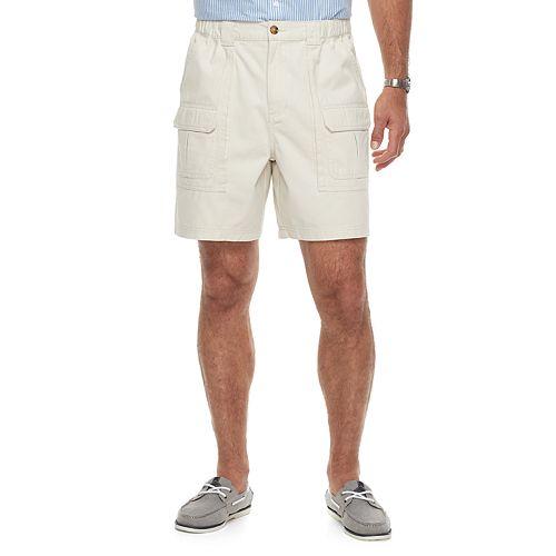 Men's Croft & Barrow® Classic-Fit Side Elastic Cargo Shorts
