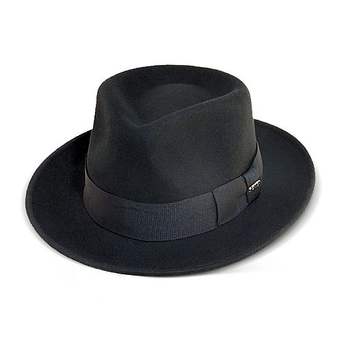 31a9b63f2b26a Men's Scala Wool Felt Grosgrain Fedora