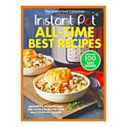 Instant Pot 'All-Time Best Recipes' Cookbook