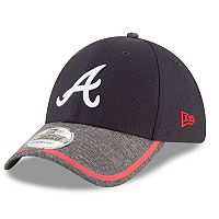 Adult New Era Atlanta Braves 39THIRTY Tinted Trim Flex-Fit Cap