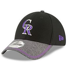 Adult New Era Colorado Rockies 39THIRTY Tinted Trim Flex-Fit Cap