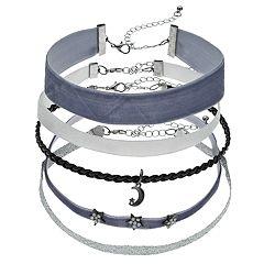 Mudd® 5-Piece Choker Necklace Set