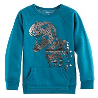 Boys 4-7x SONOMA Goods for Life™ Metallic Graphic Pullover Sweatshirt