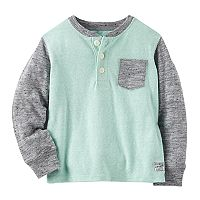 Boys 4-12 OshKosh B'gosh® Marled Pocket Henley