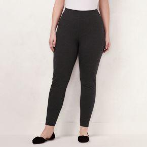 Plus Size LC Lauren Conrad Knit Leggings