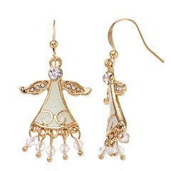 Angel Nickel Free Fringe Drop Earrings