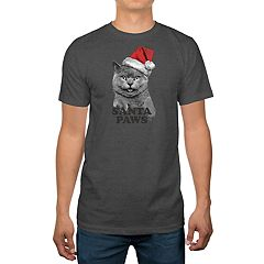 Big & Tall 'Santa Paws' Holiday Tee