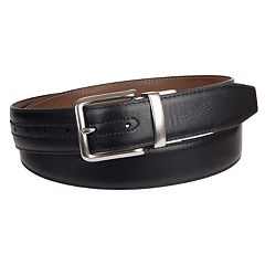 Big & Tall Croft & Barrow® XL Feather Edge Stitch Casual Reversible Belt