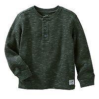 Boys 4-12 OshKosh B'gosh® Long Sleeve Henley