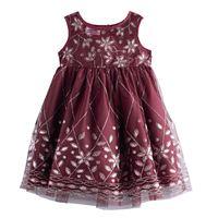 Baby Girl Blueberi Boulevard Beaded Dress