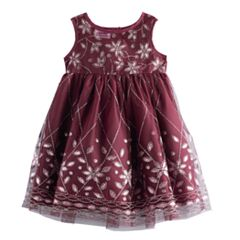 Baby Girl Blueberi Boulevard Beaded Dress