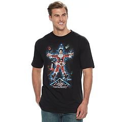 Big & Tall National Lampoon's Christmas Vacation Electric Santa Tee