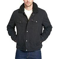 Men's Levi's Sherpa-Lined Trucker Jacket