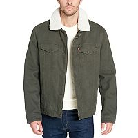 Men's Levi's Sherpa-Lined Trucker Jacket
