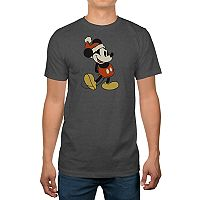 Big & Tall Disney's Mickey Mouse Santa Holiday Tee