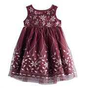 Toddler Girl Blueberi Boulevard Embellished Dress