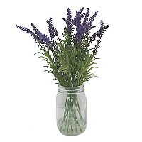 SONOMA Goods for Life™ Artificial Lavender Mason Jar Flower Arrangement