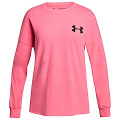 Girls 7-16 Under Armour Wordmark Long Sleeve Tee