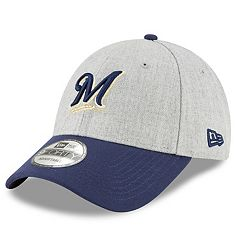 Men's New Era Milwaukee Brewers Heathered Cap