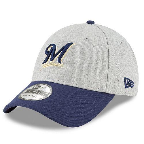 Men's New Era Milwaukee Brewers Heathered Cap