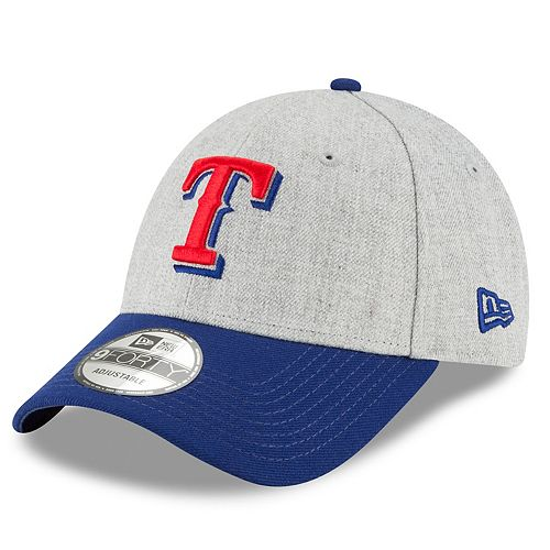 Men's New Era Texas Rangers Heathered Cap