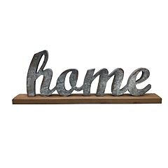 SONOMA Goods for Life™ 'Home' Farmhouse Table Decor