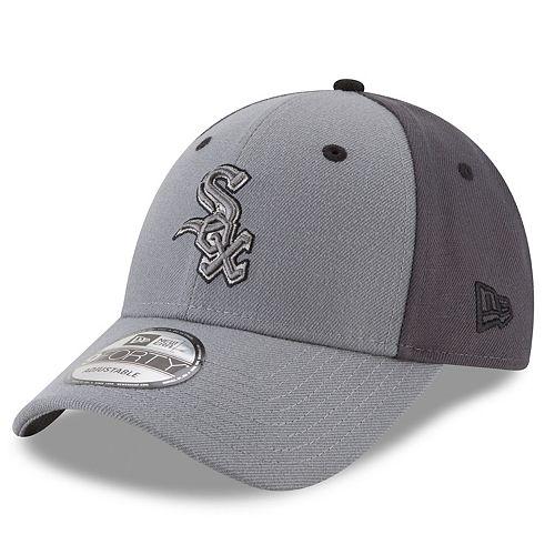 Men's New Era Chicago White Sox Gray Colorblock Cap