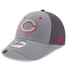 Men's New Era Cincinnati Reds Gray Colorblock Cap